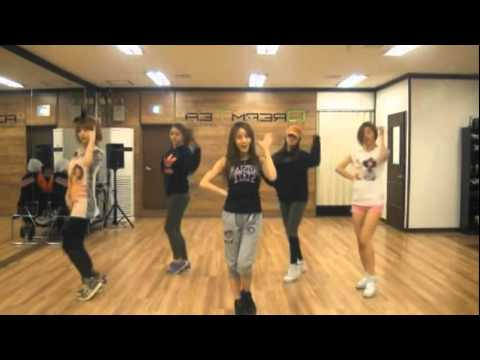 Girls Day - Oh! My God mirrored Dance Practice