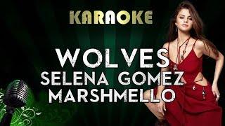 Download Lagu Selena Gomez, Marshmello - Wolves   LOWER Key Karaoke Instrumental Lyrics Cover Sing Along Gratis STAFABAND