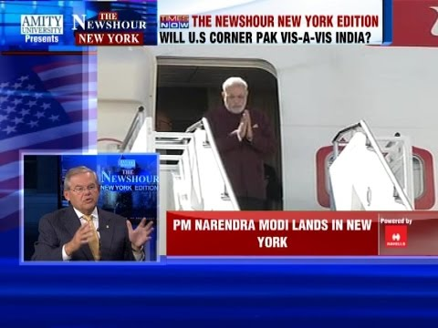 PM Narendra Modi arrives in New York