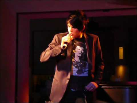 Adam Lambert at Upright Cabarets New Years Eve celebration:  Crazy