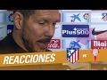 Atlético Madrid: Simeone respondió a críticas tras eliminación de Copa del Rey - Noticias de kevin pena