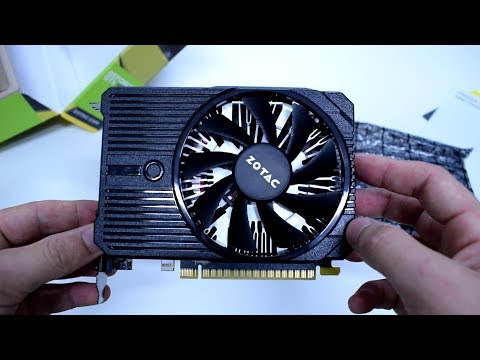 ZOTAC GeForce GTX 1050 Ti Mini - UNBOXING - GTA V/5 Benchmark