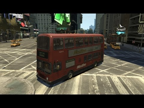 Grand Theft Auto IV - London City Bus (MOD) HD