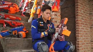 Nerf Guns War : S.W.A.T Men Of TTNerf Team Special Brave Fight Squad Boss XX Criminal Dangerous