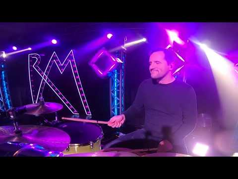 Hoffer Péter Grooves & Fills 25. (Drumcam - Rúzsa Magdi: Ég és Föld koncertek)