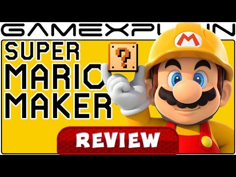 Super Mario Maker - Video Review (Wii U)