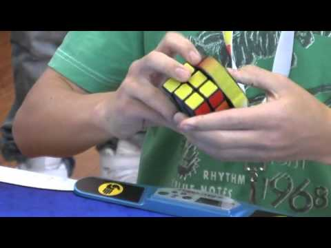 Rubik's cube former official world record: 6.65 seconds Feliks Zemdegs
