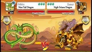 Dragon City - Heroic Dragon vs Legendary Dragon :TOURNAMENTS   EPISODE 15