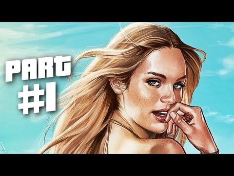 Grand Theft Auto 5 Gameplay Walkthrough Part 1 - Heist (GTA 5)