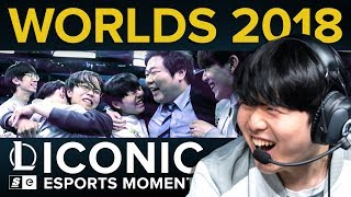 Iconic Esports Moments: How China and the West ended years of Korean dominance at Worlds 2018