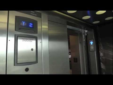 Beautiful ThyssenKrupp Synergy Elevator @ Pearl Brewery Parking Deck San Antonio TX