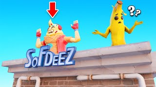 YOU Would NEVER Guess This SPOT! (Fortnite Snitch Hide & Seek)