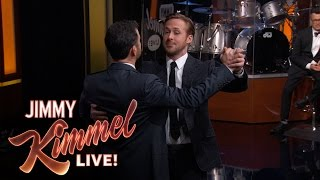 Ryan Gosling Teaches Jimmy Kimmel the Waltz