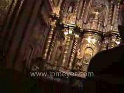 Galapagos Islands travel: Quito's Jesuit Church.