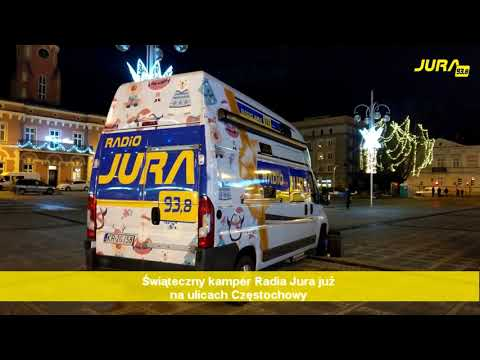 Świąteczny Kamper Radia Jura! Odwiedzamy Naszych Słuchaczy W Różnych Częściach Miasta!