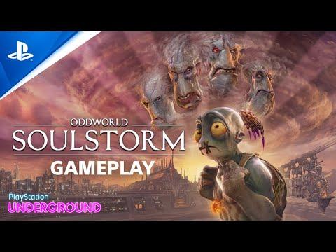 Oddworld: Soulstorm - Gameplay | PlayStation Underground