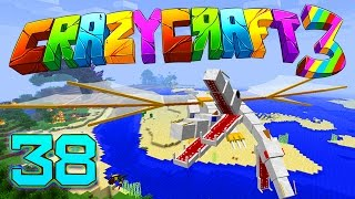 """Minecraft Crazy Craft 3.0: SAVING THE WORLD! THE KING """"SECRET TRAP!"""" #38 (Modded Roleplay)"""