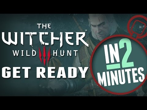 Get Ready for the Witcher 3 - In 2 Minutes (Book Spoilers!!)