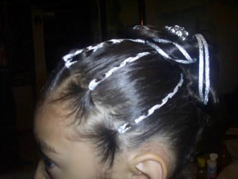 Peinado con liston 2