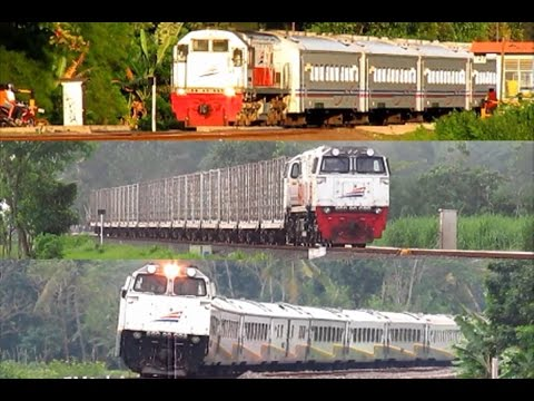 Kereta Api Indonesia V (Video Compilation of Indonesian Train)