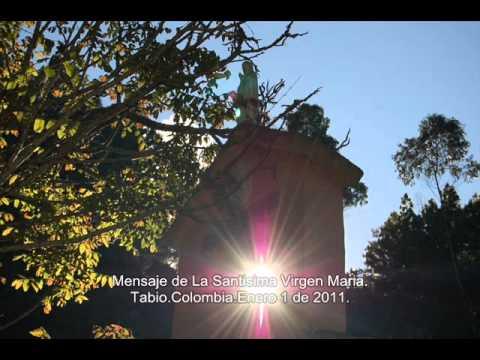 Mensaje Santisima Virgen Maria. Enero 1 de 2011
