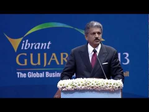 Anand Mahindra Speech during Inauguration of Vibrant Gujarat Summit 2013