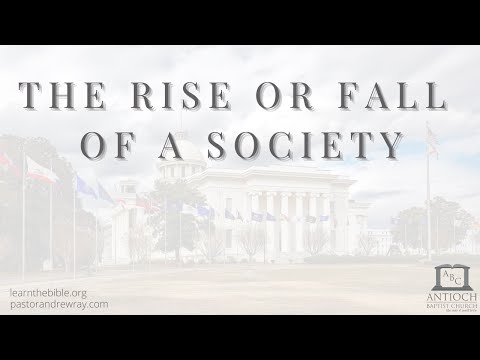 The Rise or Fall of a Society - Part 11 - Proper Role of the Employee