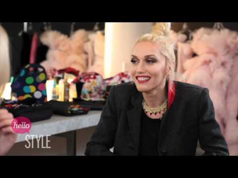 Gwen Stefani interview with The Look on the set of Harper's Bazaar cover shoot