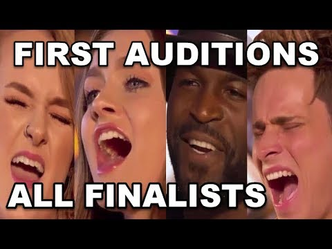 ALL FINALISTS 1st AUDITIONS - X FACTOR UK 2017 - 1st ROOM AUDITIONS On X FACTOR UK