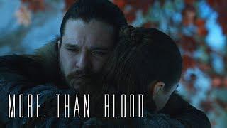 (GoT) Jon & Arya || More Than Blood
