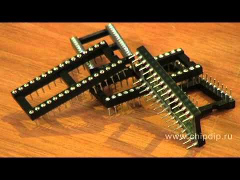 DIP панельки для микросхем