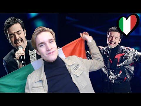Reaction Italy Diodato - Fai Rumore Eurovision 2020