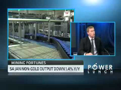 South Africa's Gold Output with Kobus Nell