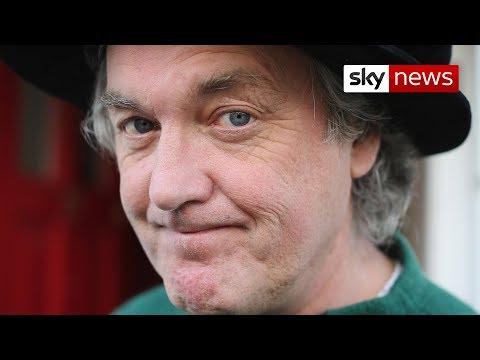 Top Gear Presenter James May's Entertaining Doorstep Interview