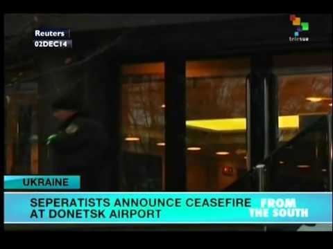 Ukraine: Donetsk rebels announce cease fire