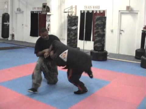 Master Scott and team Combat Kuntao demo clip