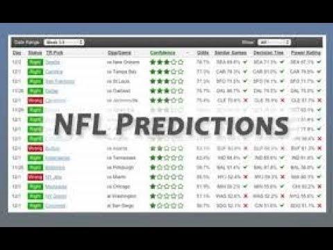 Week 13 2017 NFL Predictions