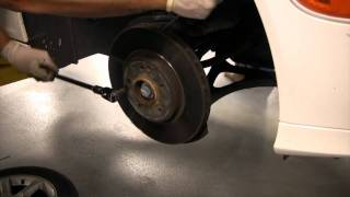 BENZWERKS- C-CLASS FRONT BRAKES REMOVAL