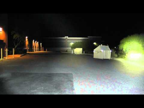 Fenix RC40 Beamshots (100 Meters)