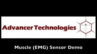 Muscle Sensor / EMG Circuit Demo