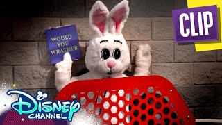 Evil Bunny 🐇| Coop & Cami Ask the World | Disney Channel