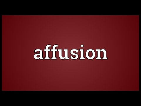 Header of affusion