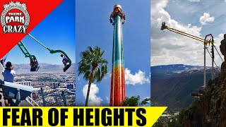 Top 10 SCARIEST Rides - Fear of Heights