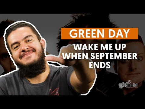 Wake Me Up When September Ends - Green Day (aula de violão...