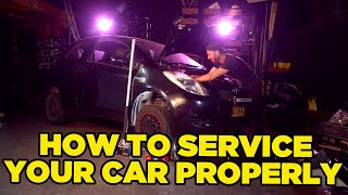 How To Service Your Car - With Cream (YARIS HILTON)