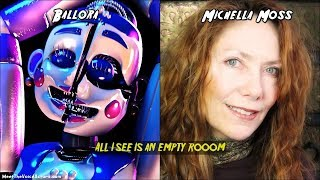 Ballora Voice Lines And Voice Actor | FNaF: Sister Location