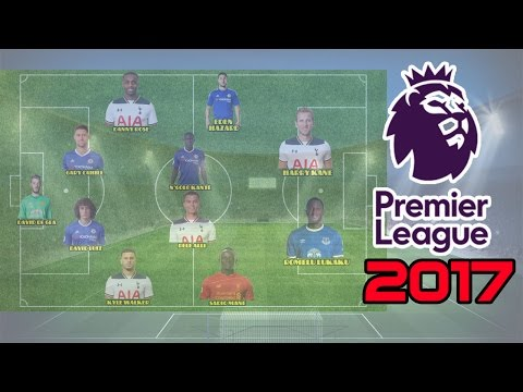 Đội hình xuất sắc nhất Premier League 2016/2017.Đội hình hay nhất năm ngoại hạng anh 2016/2017