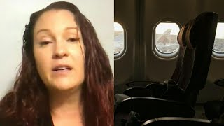 Woman Finds Herself Alone on Plane After Falling Asleep