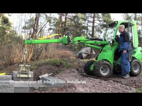 Avant Traktor I Arbete.mov video