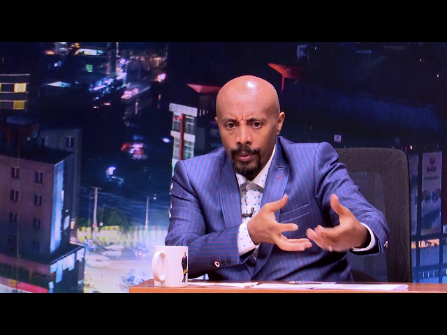 Seifu on EBS:  Interview With Yaregal P1